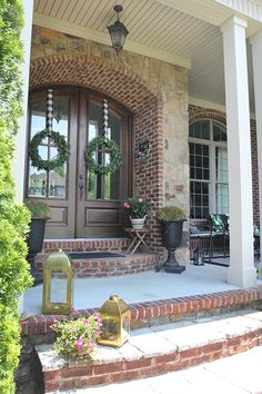 Summer Front Porch Fix-Up | Less Than Perfect Life of Bliss | home, diy, travel, parties, family, faith
