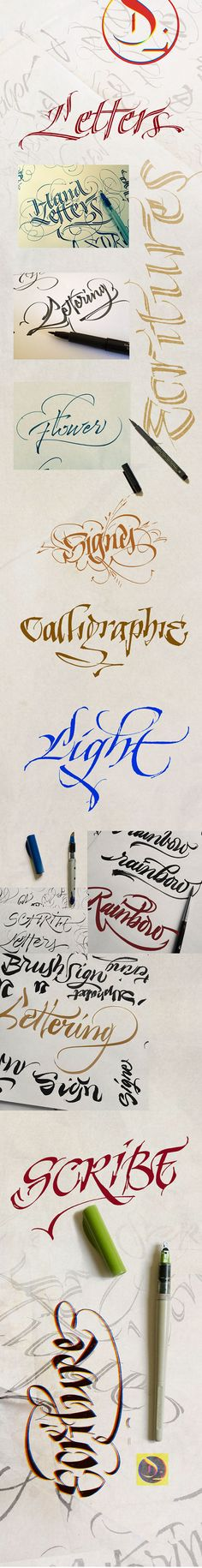 Letters on Behance