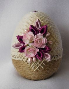 1 million+ Stunning Free Images to Use Anywhere Twine Crafts, Egg Crafts, Easter Crafts, Diy And Crafts, Spring Crafts, Holiday Crafts, Coconut Decoration, Quilted Ornaments, Easter Projects