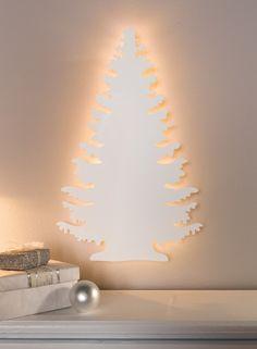 """LED-Wanddeko """"Wintertanne"""" jetzt für 15,90 € kaufen im Frank Flechtwaren und Deko Online Shop"""