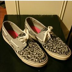 Grey print Sperrys Great shape Sperry Top-Sider Shoes