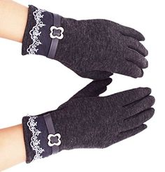 Womens Touch Screen Gloves WITERY Comfy Polar Fleece Windproof  Coldproof Touch Screen Mittens Gloves for Women Ladies  Ideal for Dress  Driving  Cycling  Motorcycle  Camping  Running Gloves * See this great product.  This link participates in Amazon Service LLC Associates Program, a program designed to let participant earn advertising fees by advertising and linking to Amazon.com.