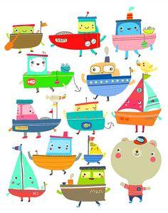les petits bateaux | Flickr - Photo Sharing!