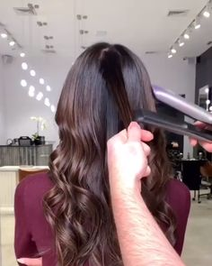 17 Stunning Examples of Balayage Dark Hair Color - Style My Hairs Brown Hair Balayage, Hair Highlights, Blonde Hair, Blonde Balayage, Curl Hair With Straightener, Curling Hair With Flat Iron, Hair Straightening, How To Curl Hair With Flat Iron, Long Hairstyles