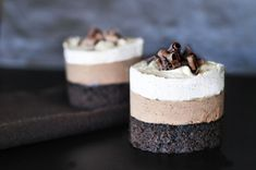 Triple Chocolate Mousse Cake.. For a weekend when I feel like being super duper bad!