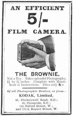 Brownie camera 1935