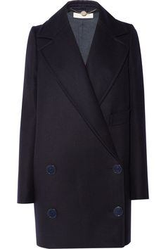 edith oversized wool coat : stella mccartney