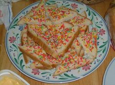 Fairy Bread- Popular treat in Australia at children's birthday party.
