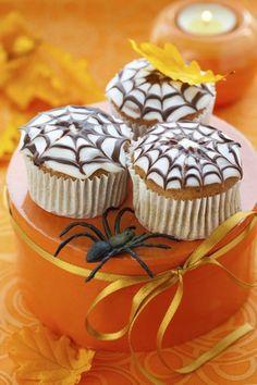 "Cupcakes ""Spinnennetz"""