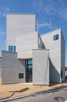 Cohta Asano builds his new Fukushima home as a cluster of nine cuboids
