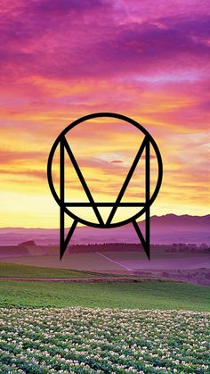 Black Owsla logo with a beautiful nature background