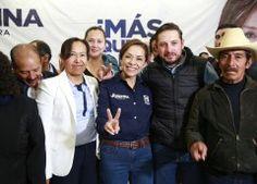 Con su voto los mexiquenses convertirán en acción tres palabras: Fuera el PRI asegura JVM