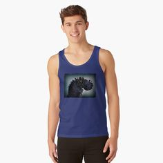Exploration, Summer Feeling, Blue Abstract, Fashion Prints, Chiffon Tops, Classic T Shirts, Tank Man, Tank Tops, How To Wear