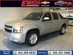 2009 Chevrolet Chevy Avalanche LT 89k  miles $22,999 89146 miles 303-395-9830  #Chevrolet #Avalanche #used #cars #EmichChevrolet #Denver #CO #tapcars