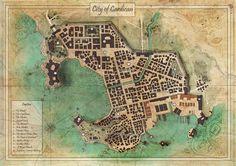 fantasy map maps maker village town cardican olivier sanfilippo
