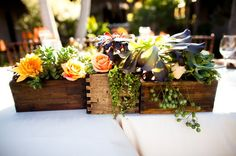 Casa Romantica Spanish Wedding, San Clemente, CA  Floral Designs by Christa Rose