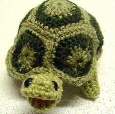 Ravelry: Granny Square Tortoise pattern by Brigitte Read