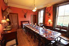 The Dining Room at Glencarron Lodge http://www.glencarronestate.co.uk