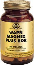 Solgar Calcium, Magnesium plus Bor x 100 tablets