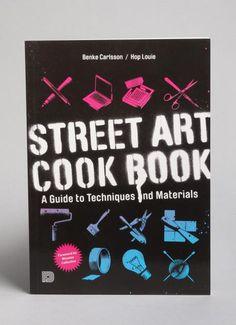 Bøger og magasiner - Street Art Cookbook, Bog