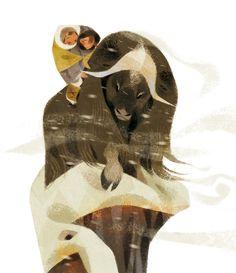 """""""Arctique"""" by Annette Marnat."""