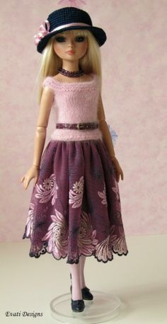 OOAK Outfit with Accessories for Ellowyne by *evati* via eBay ends 5/4/14