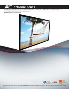 Sable ez frame screens by DukaneAVMarketing via slideshare