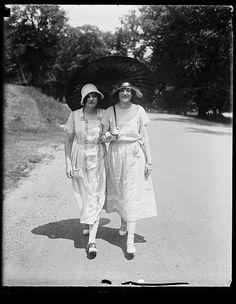 Rock Creek Park. Miss Katherine Wren and Norvelle Munford.