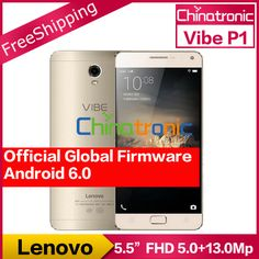 "$$$ This is great forOriginal Lenovo Vibe P1 Pro 4G FDD LTE Mobile Phone Snapdragon Octa core Dual SIM 5.5""FHD 3G RAM 16G ROM 13M Fingerprint 5000mAh-in Mobile Phones from Phones"