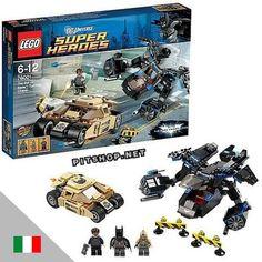 LEGO 76001 SUPER HEROES Batman contro Bane