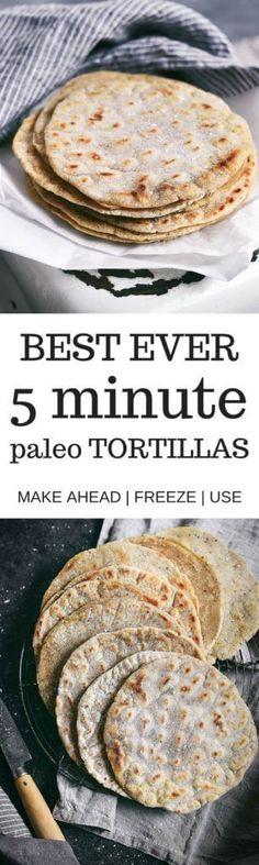 Paleo tortillas - le