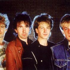 Fotos U2 Boy - October y War primeros años