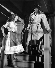 Robert Ryan & Janet Leigh (Act of Violence 1948) Fred Zinnemann. Photo Metro Goldwyn Mayer.