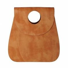 Leather Bag Vespula Light Brown