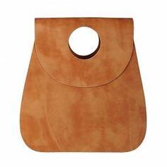 Leather Bag Vespula  Light Brown