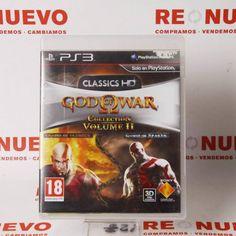 Videojuego GOD OF WAR COLLECTION HD VOL.2 # Videojuego God of War# de segunda mano# Juegos PS3