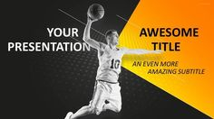 Sports  Mega Powerpoint Template  Tennis