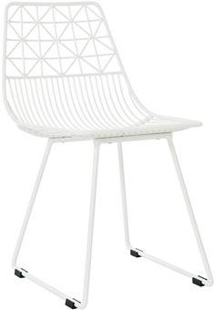 Sebra Stol Metall Me Sit Hvit Large | Innredning Barnemøbler | Jollyroom
