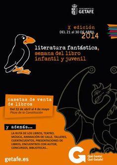 X Semana del Libro Infantil y Juvenil 2014 (Getafe). Literatura fantástica.