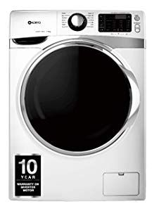 Koryo 7 kg Inverter Fully-Automatic Front Loading Washing Machine price in india White, In-built Heater) - India Smart Price Washing Machine Price, India, Goa India