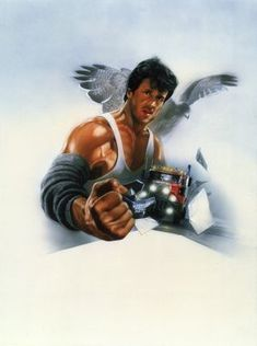 Over the Top Sylvester Stallone Sylvester Stallone, Best Movie Posters, Movie Poster Art, Rocky Film, Kids Umbrellas, Rambo, Bon Film, Horror Posters, Movie Posters