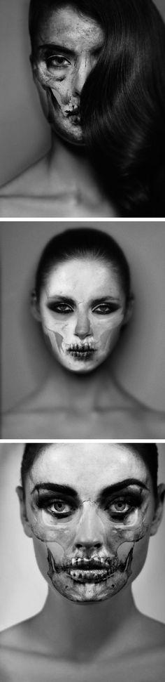 Skullportraits by Carsten Witte.