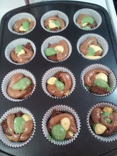 Camo Cupcakes tutorial