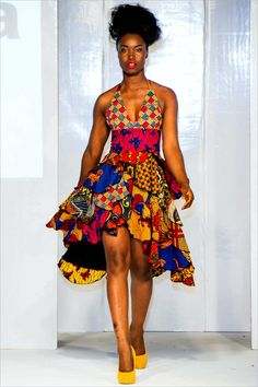 AFWL, the leading African fashion event across the globe is back for the season Experience the catwalk shows, meet industry experts and shop from never seen before collections. Modern African Print Dresses, African Dresses For Women, African Fashion Dresses, African Attire, African Wear, African Clothes, African Theme, Ghanaian Fashion, African Women