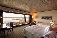 Singular hotel in Patagonia, chile