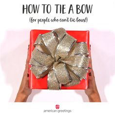 How to Tie a Bow (fo