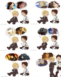Now that I think  about it, Attack on Titan and FMA are pretty similar.