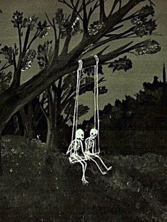 Discovered by nikkilangmusic. Find images and videos about love, Halloween and blackandwhite on We Heart It - the app to get lost in what you love. Spooky Scary, Creepy, Aesthetic Art, Aesthetic Pictures, Autumn Aesthetic, Arte Obscura, Skeleton Art, Skeleton Love, Skeleton Drawings