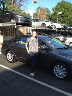 Ardmore Toyota congratulates Rachel on her new 2013 Toyota Corolla on behalf of Salesperson Steve Reese! Thank you from Ardmore Toyota!