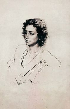 Pietro Annigoni Tutt Art Fine Art Drawing, Life Drawing, Figure Drawing, Drawing Sketches, Art Drawings, Drawing Reference, Sketching, Portrait Sketches, Portrait Art